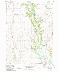 Download a high-resolution, GPS-compatible USGS topo map for Panther, IA (1983 edition)
