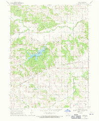 Download a high-resolution, GPS-compatible USGS topo map for Paris, IA (1971 edition)