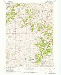 Download a high-resolution, GPS-compatible USGS topo map for Peosta, IA (1973 edition)