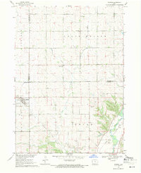 Download a high-resolution, GPS-compatible USGS topo map for Pierson, IA (1971 edition)