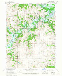 Download a high-resolution, GPS-compatible USGS topo map for Plano, IA (1967 edition)