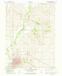 Download a high-resolution, GPS-compatible USGS topo map for Red Oak North, IA (1978 edition)