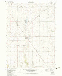 Download a high-resolution, GPS-compatible USGS topo map for Rippey, IA (1983 edition)