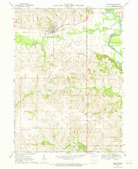 Download a high-resolution, GPS-compatible USGS topo map for Riverside, IA (1971 edition)