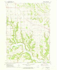 Download a high-resolution, GPS-compatible USGS topo map for Rossville, IA (1973 edition)