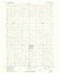 Download a high-resolution, GPS-compatible USGS topo map for Schleswig, IA (1973 edition)
