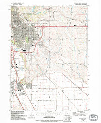 Download a high-resolution, GPS-compatible USGS topo map for Sergeant Bluff, IA (1995 edition)