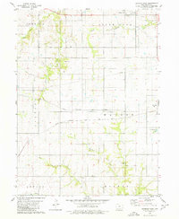 Download a high-resolution, GPS-compatible USGS topo map for Seymour West, IA (1980 edition)