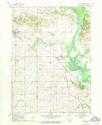 Download a high-resolution, GPS-compatible USGS topo map for Shellsburg, IA (1971 edition)