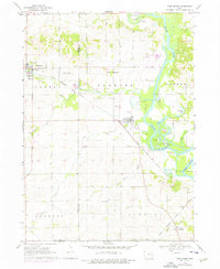 Download a high-resolution, GPS-compatible USGS topo map for Shellsburg, IA (1976 edition)