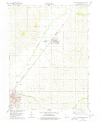 Download a high-resolution, GPS-compatible USGS topo map for Shenandoah East, IA (1978 edition)