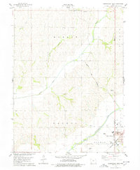 Download a high-resolution, GPS-compatible USGS topo map for Shenandoah West, IA (1978 edition)