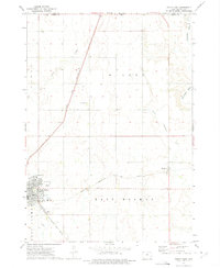 Download a high-resolution, GPS-compatible USGS topo map for Sibley East, IA (1975 edition)