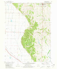 Download a high-resolution, GPS-compatible USGS topo map for Sidney, IA (1981 edition)