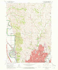 Download a high-resolution, GPS-compatible USGS topo map for Sioux City North, IA (1972 edition)