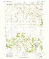 Download a high-resolution, GPS-compatible USGS topo map for Sioux Rapids, IA (1973 edition)