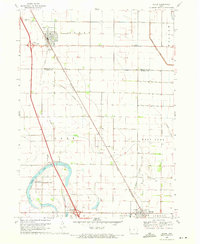 Download a high-resolution, GPS-compatible USGS topo map for Sloan, IA (1971 edition)