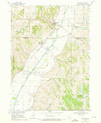 Download a high-resolution, GPS-compatible USGS topo map for Smithland, IA (1971 edition)