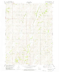 Download a high-resolution, GPS-compatible USGS topo map for Stanton SW, IA (1978 edition)