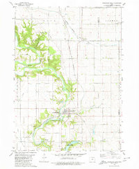 Download a high-resolution, GPS-compatible USGS topo map for Steamboat Rock, IA (1980 edition)