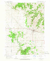 Download a high-resolution, GPS-compatible USGS topo map for Strawberry Point, IA (1966 edition)