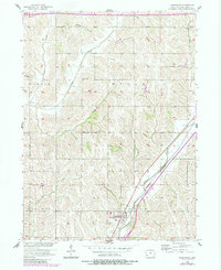 Download a high-resolution, GPS-compatible USGS topo map for Underwood, IA (1984 edition)
