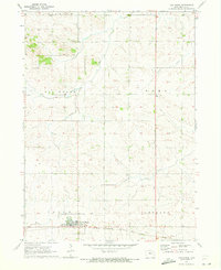 Download a high-resolution, GPS-compatible USGS topo map for Van Horne, IA (1973 edition)