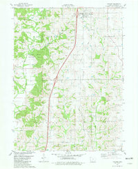 Download a high-resolution, GPS-compatible USGS topo map for Van Wert, IA (1981 edition)