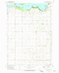 Download a high-resolution, GPS-compatible USGS topo map for Ventura Heights, IA (1975 edition)