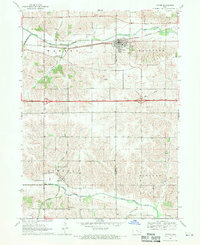 Download a high-resolution, GPS-compatible USGS topo map for Victor, IA (1970 edition)