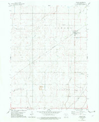 Download a high-resolution, GPS-compatible USGS topo map for Vincent, IA (1979 edition)