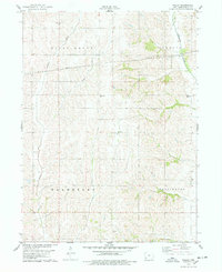 Download a high-resolution, GPS-compatible USGS topo map for Wallin, IA (1978 edition)