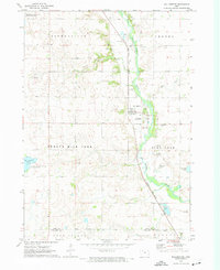 Download a high-resolution, GPS-compatible USGS topo map for Wallingford, IA (1974 edition)