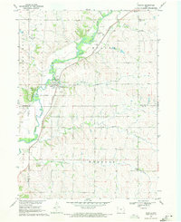 Download a high-resolution, GPS-compatible USGS topo map for Washta, IA (1971 edition)