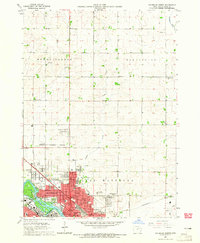 Download a high-resolution, GPS-compatible USGS topo map for Waterloo North, IA (1965 edition)