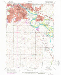 Download a high-resolution, GPS-compatible USGS topo map for Waterloo South, IA (1986 edition)