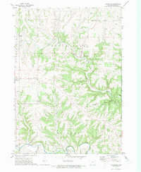 Download a high-resolution, GPS-compatible USGS topo map for Waterville, IA (1973 edition)