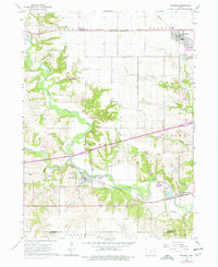 Download a high-resolution, GPS-compatible USGS topo map for Waukee, IA (1977 edition)