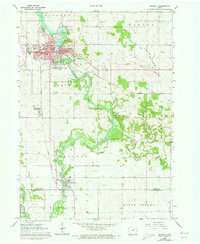 Download a high-resolution, GPS-compatible USGS topo map for Waverly, IA (1973 edition)