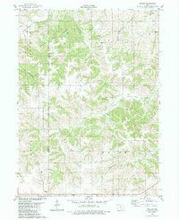 Download a high-resolution, GPS-compatible USGS topo map for Weller, IA (1983 edition)