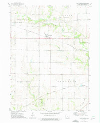 Download a high-resolution, GPS-compatible USGS topo map for West Chester, IA (1975 edition)