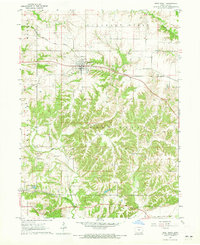 Download a high-resolution, GPS-compatible USGS topo map for West Point, IA (1965 edition)