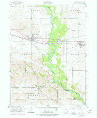 Download a high-resolution, GPS-compatible USGS topo map for Wheatland, IA (1977 edition)