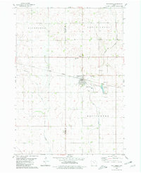 Download a high-resolution, GPS-compatible USGS topo map for Whittermore, IA (1981 edition)