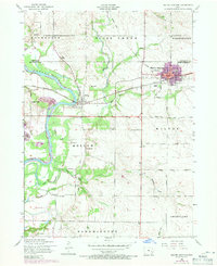 Download a high-resolution, GPS-compatible USGS topo map for Wilton Junction, IA (1971 edition)