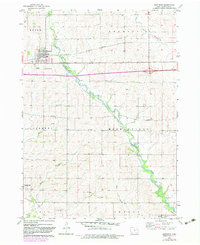 Download a high-resolution, GPS-compatible USGS topo map for Winthrop, IA (1983 edition)