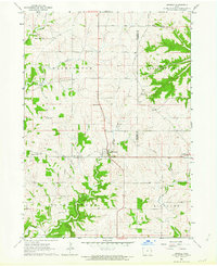 Download a high-resolution, GPS-compatible USGS topo map for Zwingle, IA (1964 edition)