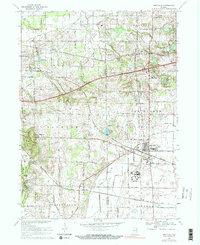Westville Indiana Map.Landmarkhunter Com Westville Indiana 7 5 Minute Quadrangle