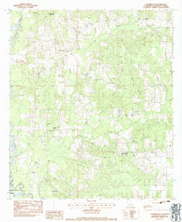 Download a high-resolution, GPS-compatible USGS topo map for Chesbrough, LA (1984 edition)