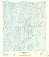 Download a high-resolution, GPS-compatible USGS topo map for Cocodrie, LA (1959 edition)